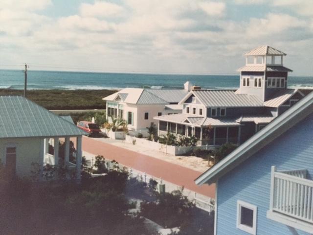 Early Seaside Street Scene
